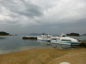 大島の桟橋